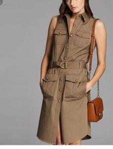 Lauren Ralph Lauren Utility Sleeveless Dress